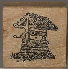 A La Art Rubber Stamp Wishing Well