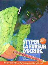 Publicité 1984  STYPEN  stylo