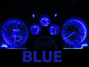 Gauge Cluster LED Dashboard Bulbs Blue For Chevy 82-89 Camaro IROC Z28