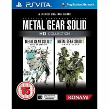 NEW! Metal Gear Solid HD Collection [SONY PS Vita] REGION FREE [CRACKED CASE]