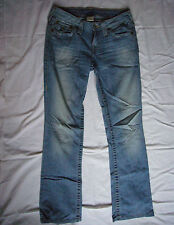 True Religion Bootcut Thick Back Pocket Stitch Womens Jeans Size 27 x 31.5