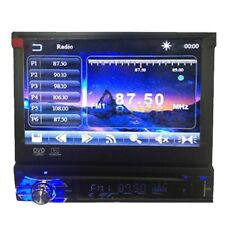 7'' 1 DIN Single In Dash Car Stereo DVD CD MP3 Bluetooth Player Touch Screen HD