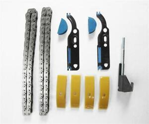 4x Slide Rail Timing Chain Holder Gasket Set Tensioner Audi 2,4 2,7T 3,7 4,2