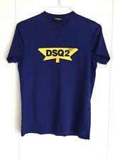 DSQUARED2 DSQ2 T Shirt Blue Yellow Black 16Y