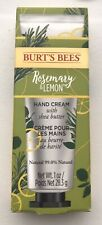 Burt's Bees Rosemary & Lemon Hand Cream With Shea Butter 28.3G  BNIB