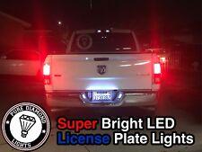 1992-2020 Dodge Ram super bright Led License Plate Bulbs 2pc USA