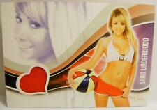 SARA UNDERWOOD PLAYBOY BENCH WARMER BUBBLE GUM BIKINI SWATCH 2013 ULTRA RARE!!!!