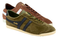 Scarpe Sneakers shoes GOLA Bullet suede uomo man casual stringati laced-up pelle