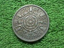 GREAT  BRITAIN   2 Shillings   1955   *