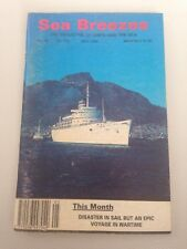 SEA BREEZES mag #593 Disaster In Sail But An Epic Voyage In Wartime - MAY 1995