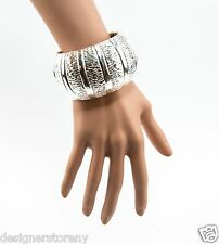 Simon Sebbag Sterling Silver Wire & Smooth Large Cuff Bracelet B1332