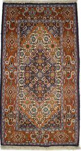 Vintage Floral Classic Design Small 1'8X3'2 Oriental Rug Entrance Decor Carpet