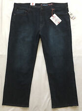 $75 NWT IZOD Relaxed Comfort Fit Jeans 46 x 30 Straight Leg