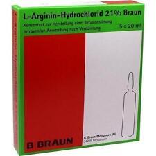 L-ARGININ-HYDROCHLORID 21% Elek.-Konz.Inf.-Ls 5X20 ml PZN 9704010