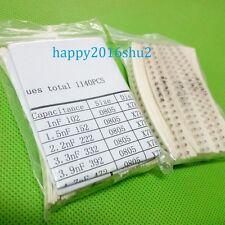 HOT 57 Value Kit 0805 SMD Ceramic capacitor 1pF-22uF MLCC SMT 1140pcs