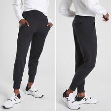 Athleta Venice Jogger MEDIUM Tall MT Black Semi-fitted Breathable Wicking Pocket
