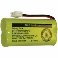 Battery BT184342 BT284342 for AT&T Vtech GE RCA and Clarity Cordless Telephones