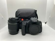 CANON 750D DIGITAL SLR CAMERA +18-55mm IS LENS