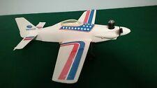 Vintage Testors Fly Em Starchaser Cosmic Wind RTF Model Airplane w/.049 Engine