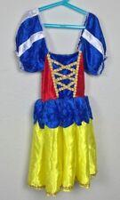 Creative Design Vestido Chica Disfraz Blancanieves Disney Multicolor Talla 9-10