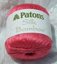 Patons Silk Bamboo Yarn in Petunia Pink - New & Smoke Free Home