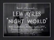 NIGHT WORLD (1932) DVD LEW AYRES, MAE CLARKE