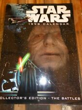 STAR WARS 1998 Collector's Edition: The Battles CALENDAR - Amazing images!