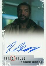 X Files: Seasons 10 & 11 Autograph Card! Roger Cross as Officer Wentworth