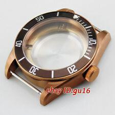 41mm sapphire watch Case fit Miyota 8205/8215/821A,ETA 2836,DG2813 watch,p560