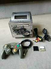 Panasonic Q Game Cube compatible machine SL-GC10, controller, 2memory cards