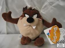 Tasmanian Devil (Taz) 5 inch mini bean bag doll, Looney Tunes; Applause New