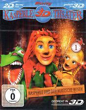 PUPPET THEATER 3D VOL 1 Punch & Judy - 3D & 2D Blu Ray Disc -