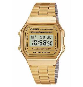 Casio Armbanduhr A168WG-9EF Gold Unisex Armbanduhr Neu