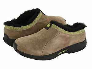 New Toddler Girl Merrell Encore Chill Slide Tan Shoe Suede Size 8 10 12