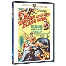TARZAN & THE SLAVE GIRL - (B&W 1950 Lex Barker) Region Free DVD - Sealed