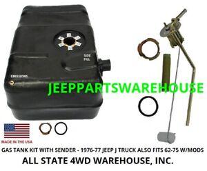 JEEP 1962-1977 Jeep J-truck 18 gallon tank kit J10 & J20 with sending unit