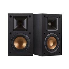 NEW PAIR KLIPSCH R-14M REFERENCE SERIES BOOKSHELF SPEAKERS stereo copper pc hifi
