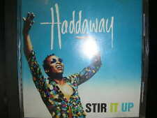 "CD Haddaway ""Stir It Up, Rock My Heart, When The Feeling's Gone"" Coconut BMG"