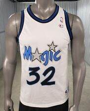 1992 Authentic Shaquille O'Neal Champion Jersey Orlando Magic Sz 40 White NWOT