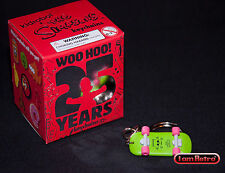 Bart's Skateboard Simpsons 25th Anniversary - Kidrobot  Add'l Keychain Ship Free