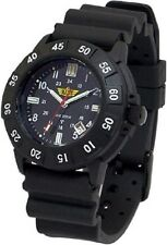 Black Uzi Tritum Protector Rubber Strap Tritium Tactical Watch 4320