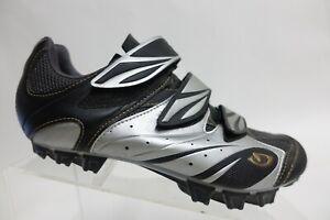 GIRO Silver Sz 7 Women Leather Cycling Shoes