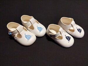 NEW SPANISH STYLE BABY BOYS SOFT SOLE T-BAR BAYPOD PRAM SAILOR CHRISTENING SHOES