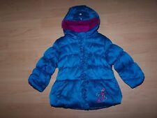 ZERO X POSUR Todler Girl Hooded Blue Puffer Winter Jacket Size 2T