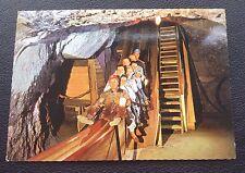 POSTCARD: HALLEIN: SALZBURG: SLIDE IN THE SALT MINES: POST DATE ON CARD IS 1982