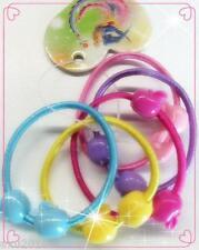 10 x Cute Girl Hair Ties Band Ponytail Holder Multicolor Headband FREE POST