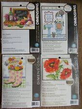 Cross stitch Kit 4 Kits assorted designs New by Dimensions