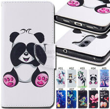 For Huawei Honor 6X Protective Shockproof PU Leather Flip Cover Wallet Back Case