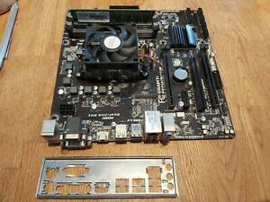 Gigabyte GA-F2A78M-D3H Motherboard A8 7600 3.10GHz 10 core CPU 8gb ram
