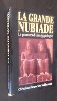 La Grande Nubiade C. Desroches Noblecourt 1993 Francia Loisirs Chaqueta Dibujado
